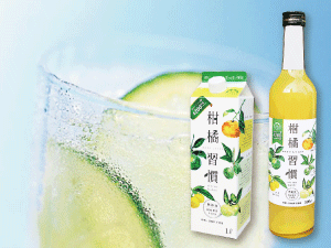 Drinkable Daidai citrus